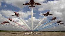 Red Arrows jet to Oman in biggest overseas tour in a decade