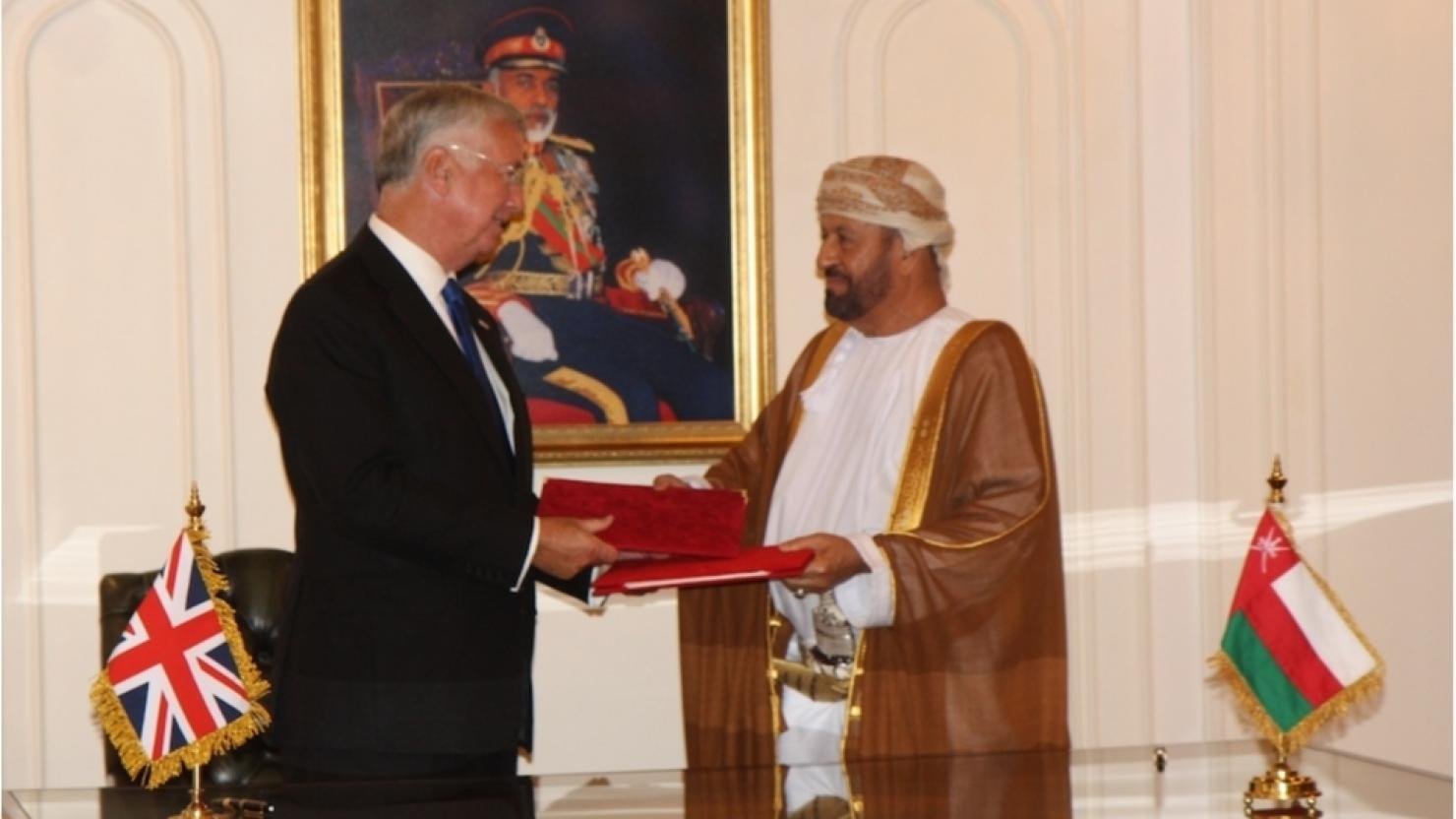 New deal sees UK forces secure use of Oman's Duqm port