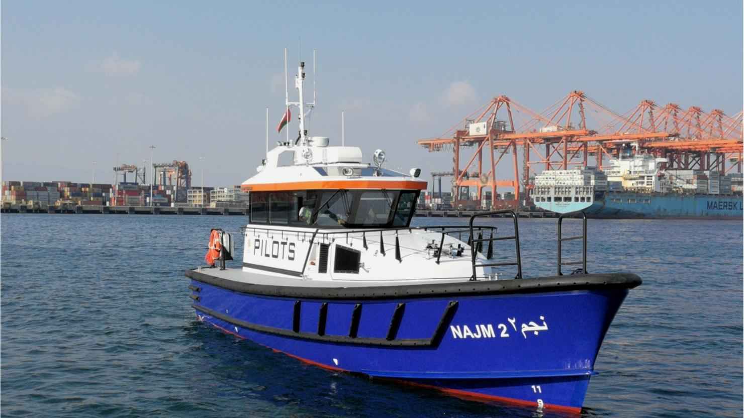 Salalah Port CEO hails arrival of cutting-edge pilot boat