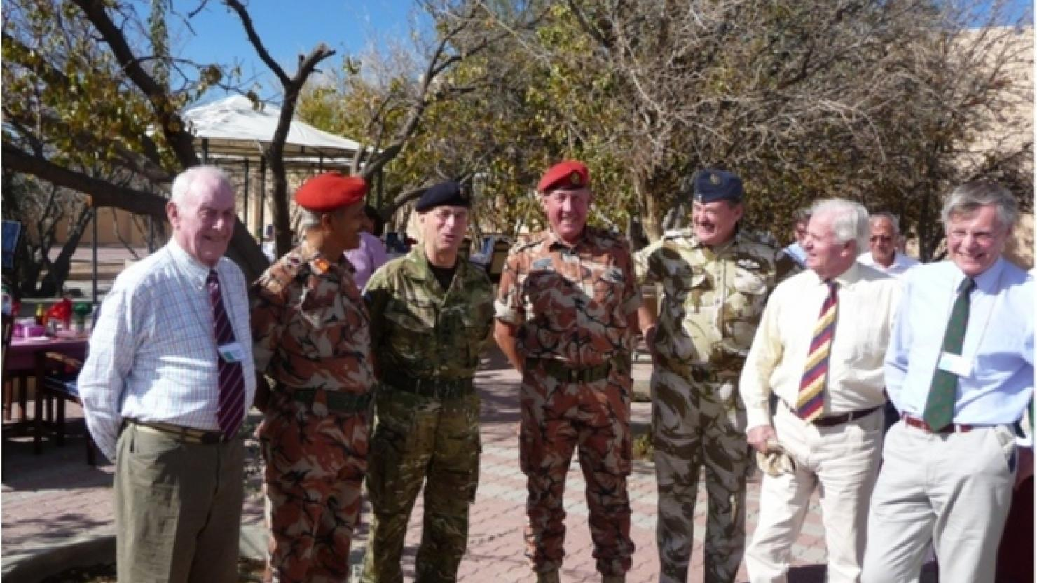 UK and Oman - a history of military co-operation - OmanGB News