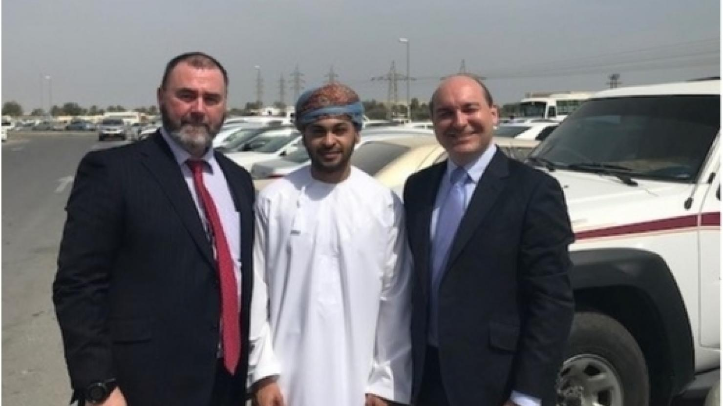 Cornwall engineering specialist teams with Omani firm for Middle East push