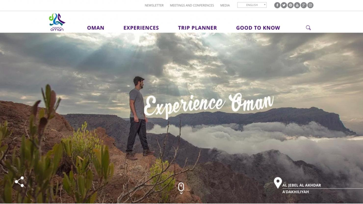 Oman launches new tourism website