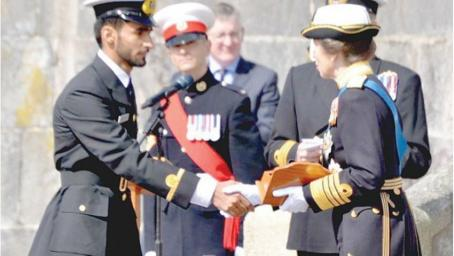 Omani cadet receives top UK naval award from Princess Royal