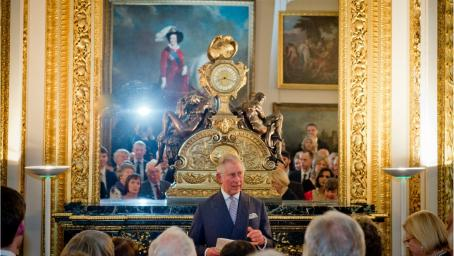 HRH Prince of Wales speaking at the Lancaster House event