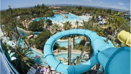 A water park in Spain