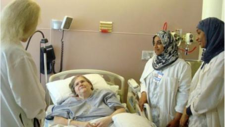 Omanis embrace palliative care campaign launched by honoured Brit Maggie Jeans OBE